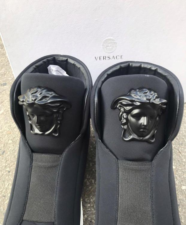 Authentic versace higt top sneakers sz 44