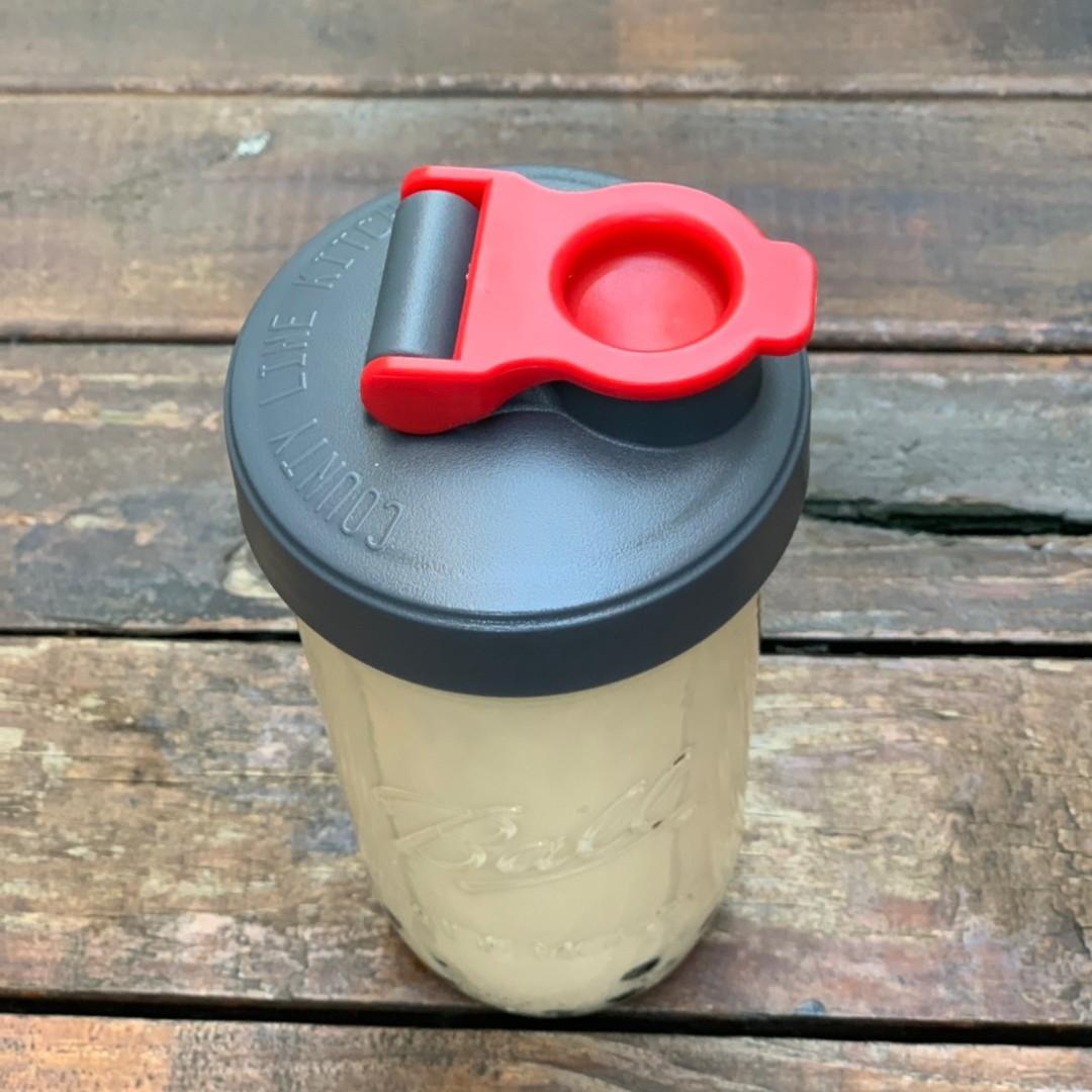 美國Ball梅森罐24oz 700cc 防漏太空蓋 優惠組 珍珠奶茶 手搖飲料杯