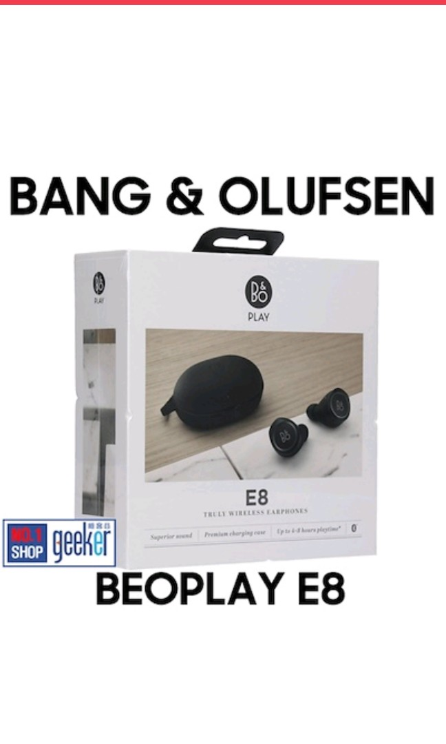 410eb21f787592 Bang And Olufsen Beoplay E8 Premium Truly Wireless In-Ear Earphones ...