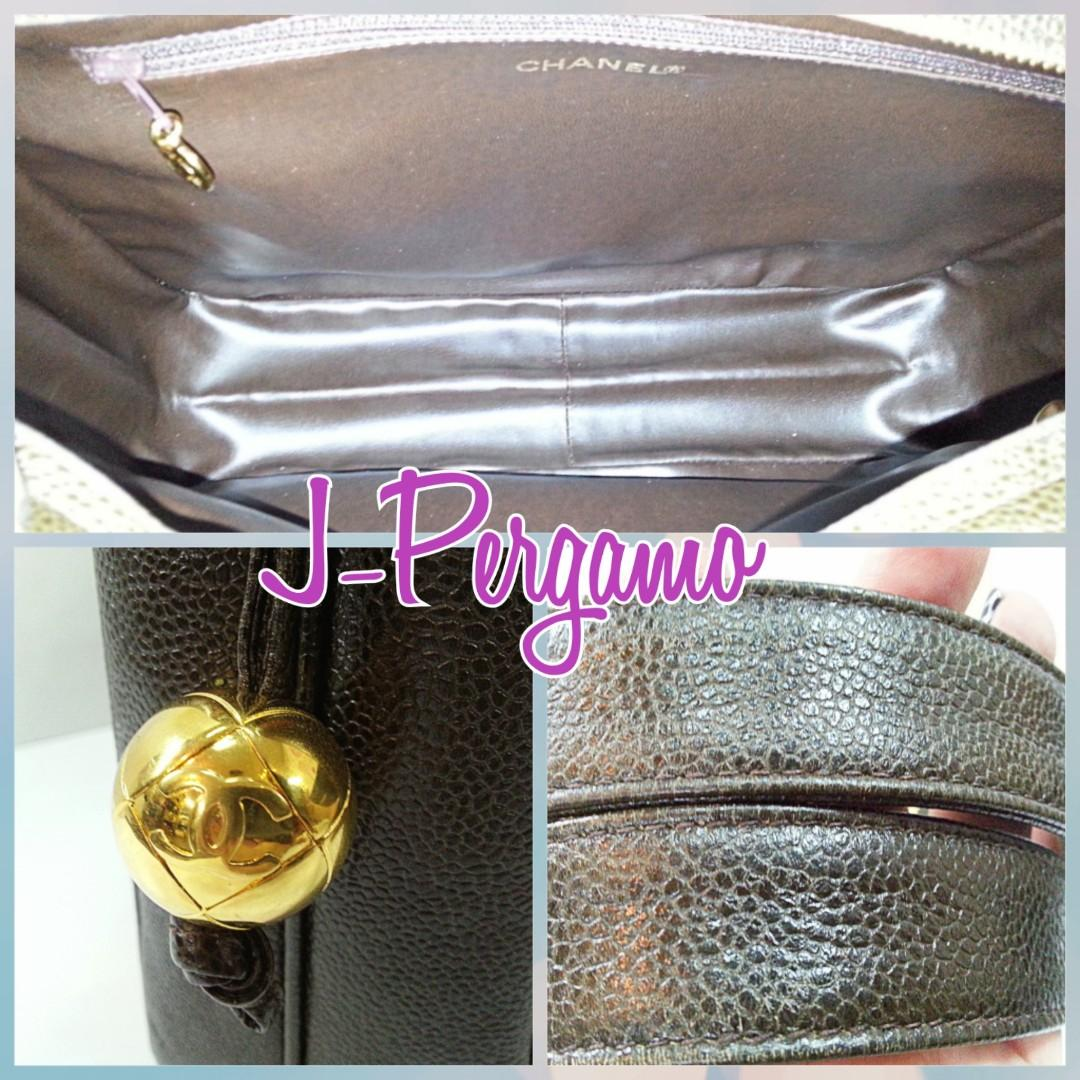 Beautiful! Authentic Chanel Vintage Caviar 6CC Jumbo Tote Bag With 24K Plated Golden Hardware {{Only For Sale}} ** No Trade ** {{Fixed Price}} ** 定价 **