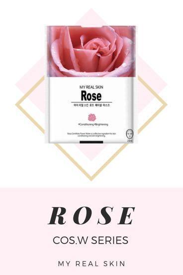 Beauty Facial Mask Sheet : My Real Skin COS.W (Masker Wajah)