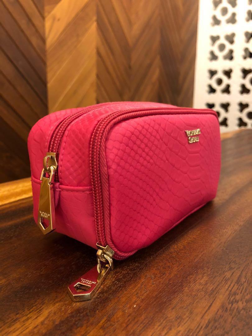 Brand New Victoria's Secret Cosmetic/Stationery Case