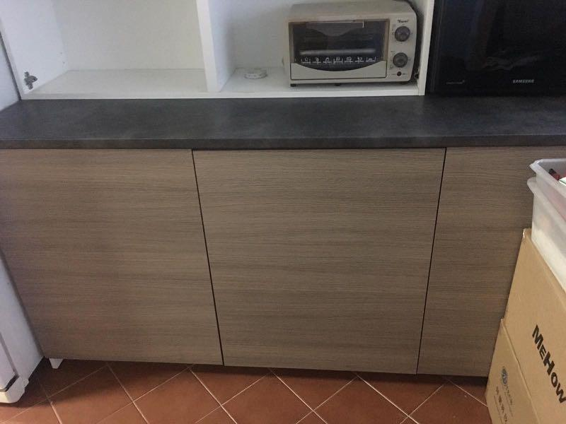 Brande New Ikea Kitchen Cabinet With Doors Furniture Shelves Drawers On Carousell