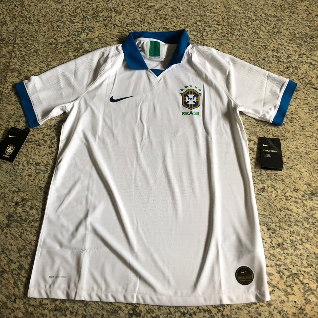 9958105923a Brazil 2019 Copa America 100 Years Anniversary Player Jersey