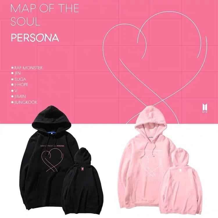 BTS Map Of The Soul Persona Hoodie Sweater Tee Shirt