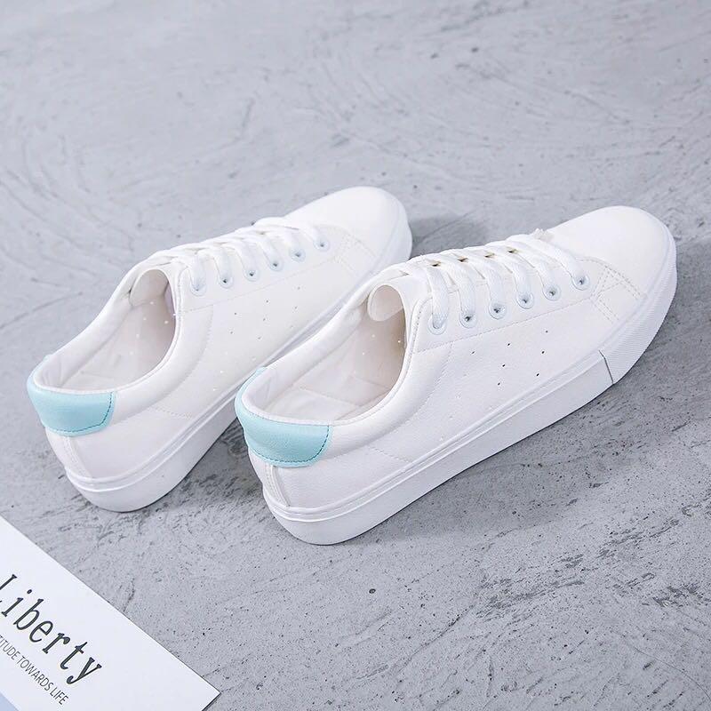 PRIMROSE Casual White Sneakers