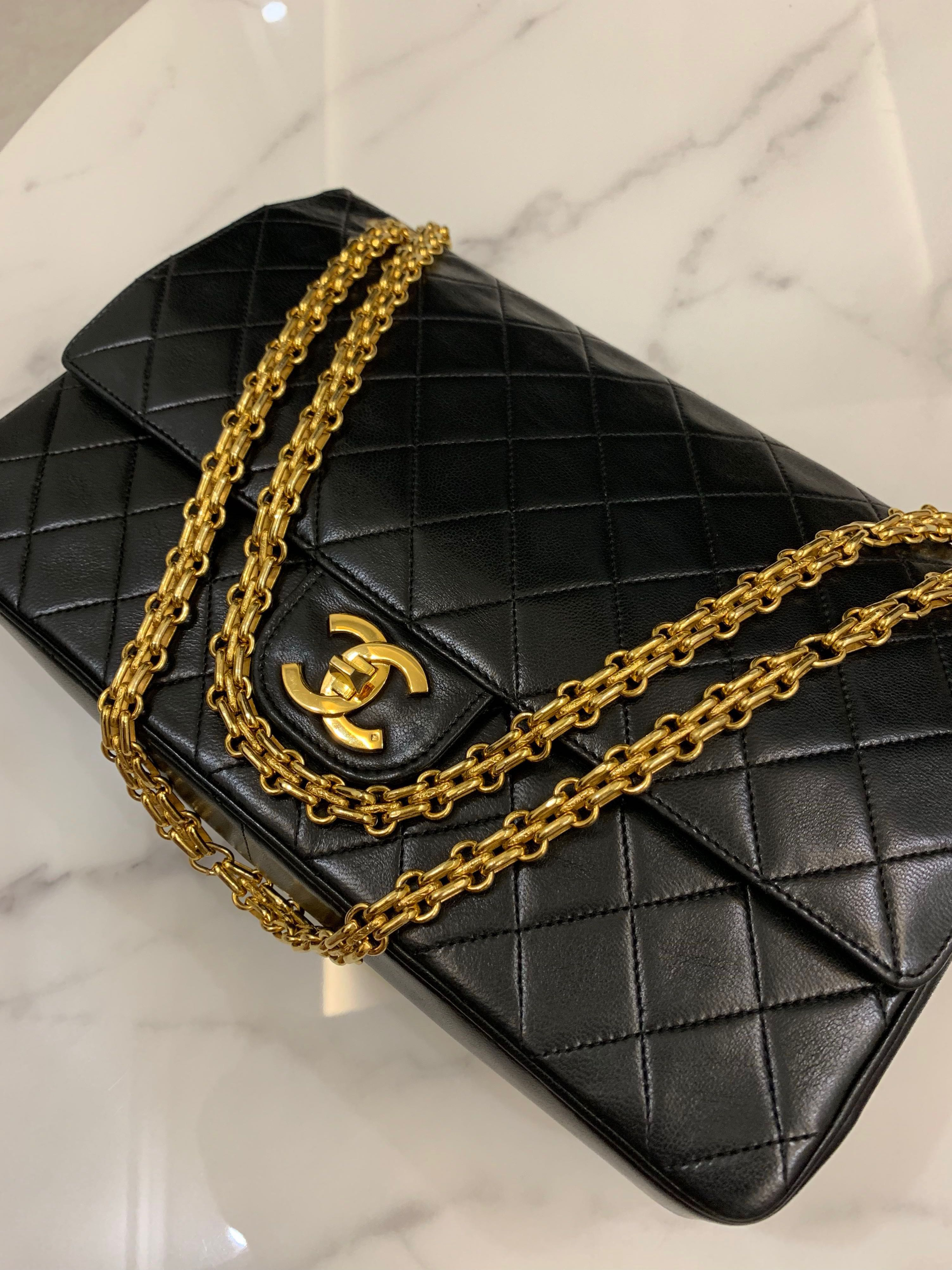 53b1de971611 Chanel Vintage reissue flap bag with mademoiselle chain, Luxury, Bags &  Wallets, Handbags on Carousell