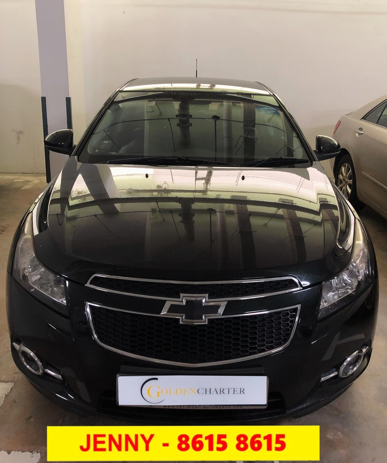 CHEVROLET CRUZE 1.6A BLACK condi car $50 Toyota Vios Wish Altis Car Axio Premio Allion Camry Estima Honda Jazz Fit Stream Civic Cars Hyundai Avante Mazda 3 2 For Rent Lease To Own Grab Rental Gojek Or Personal Use Low price and Cheap