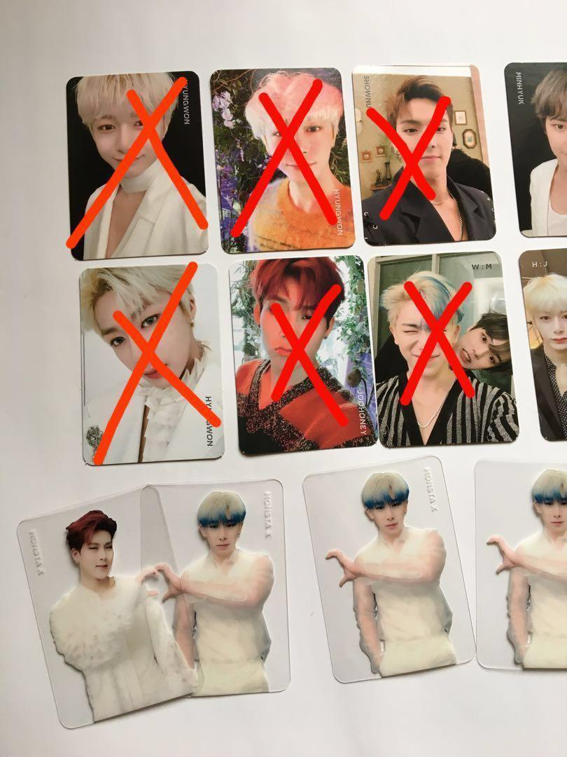 [CLEARANCE] Monsta X We Are Here Official Photocards