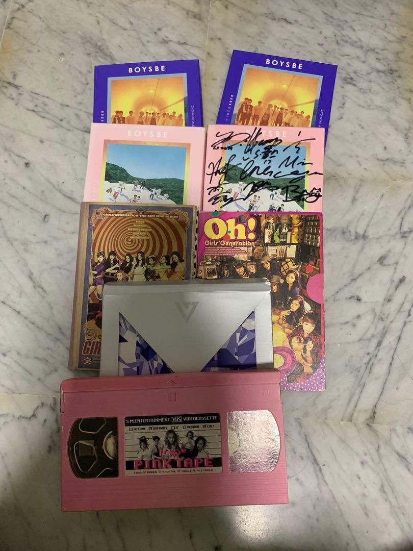 Clearing Old Kpop Albums