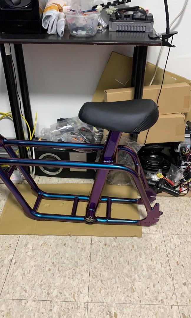 Custom spray Fiido frame