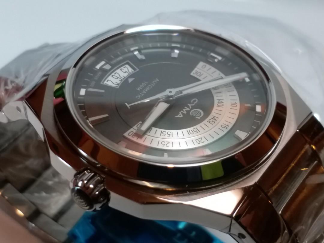 CYMA ~舊款 司馬錶~SWISS MADE 瑞士制~機械自動~全新~有原庄盒及吊牌。ref 14094