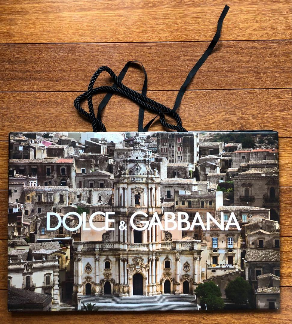 Dolce & Gabbana Limited Edition Paper Shopping Bags