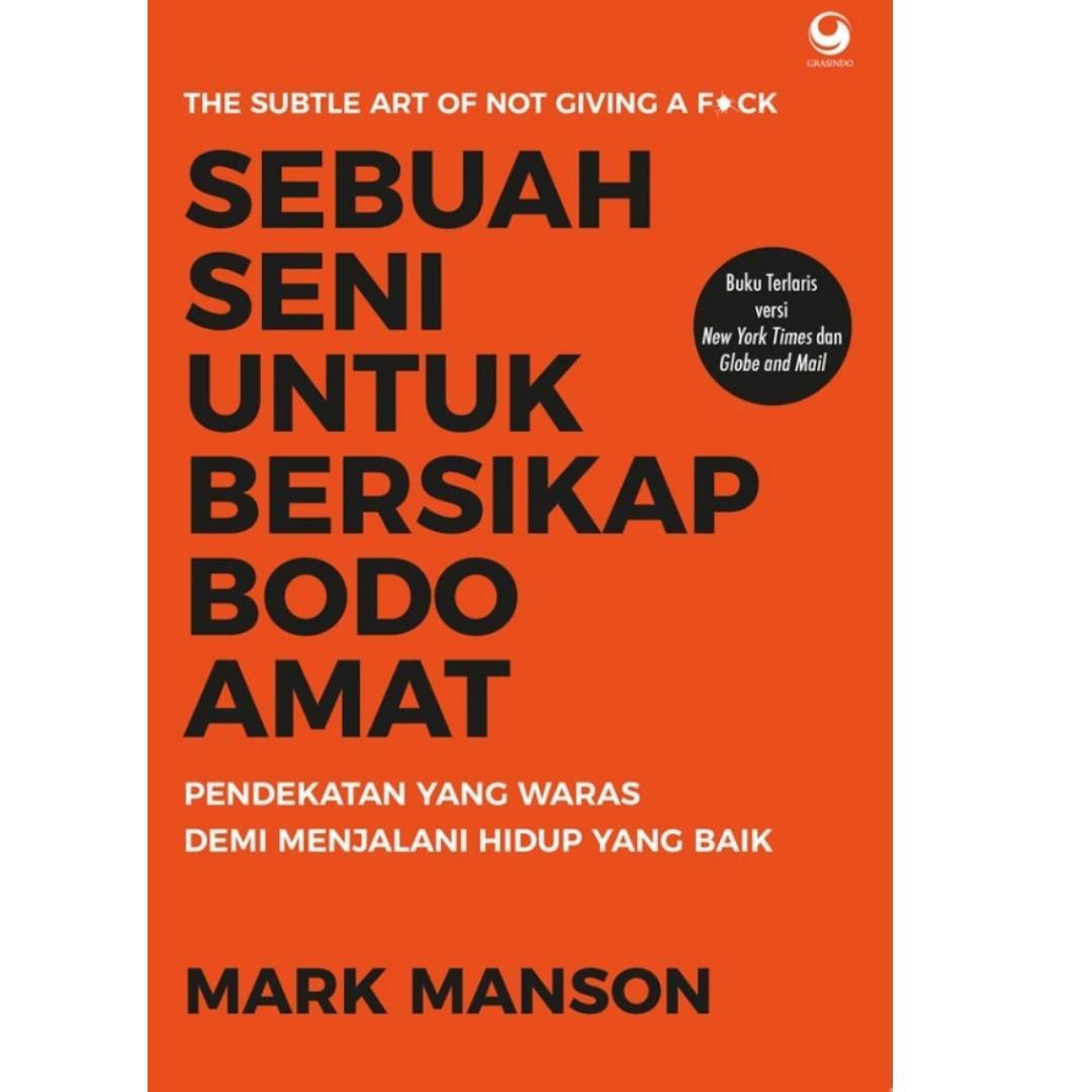 Ebook Sebuah Seni untuk Bersikap Bodo Amat - Mark Manson