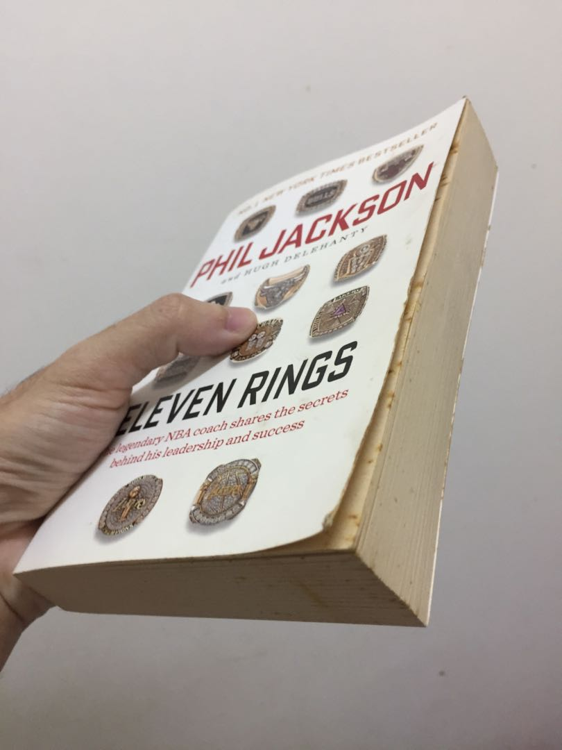 Eleven Rings: The Soul of Success by Phil Jackson, Peralatan Tulis, Buku di  Carousell