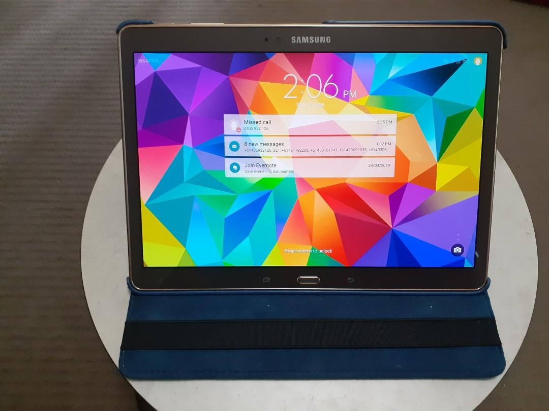 GALAXY TAB S 10.5 SM-T805Y MINT CONDITION AS NEW