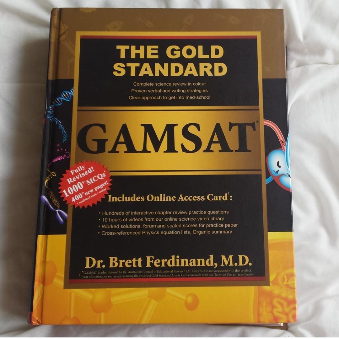 Gamsat Bundle: The Gold Standard Gamsat Textbook 2016 ACER Practice Tests