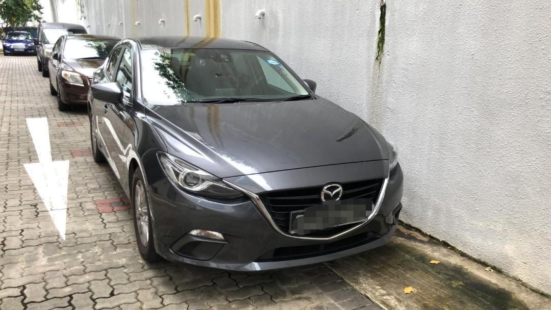Grab, Gojek Car Rental (Toyota C-HR Hybrid, Mazda Axela)