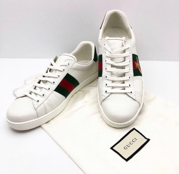 e0dc1817d Gucci Ace sneakers Bee G9, Men's Fashion, Footwear, Sneakers on Carousell