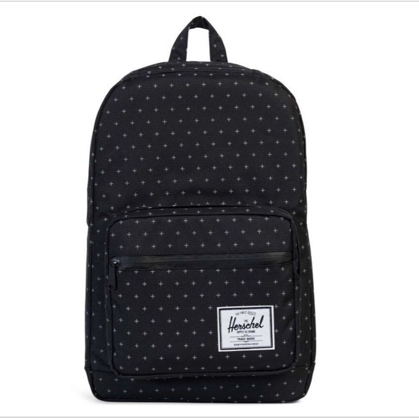 dea79a70721 Herschel Bag  Pop Quiz Black Gridlock
