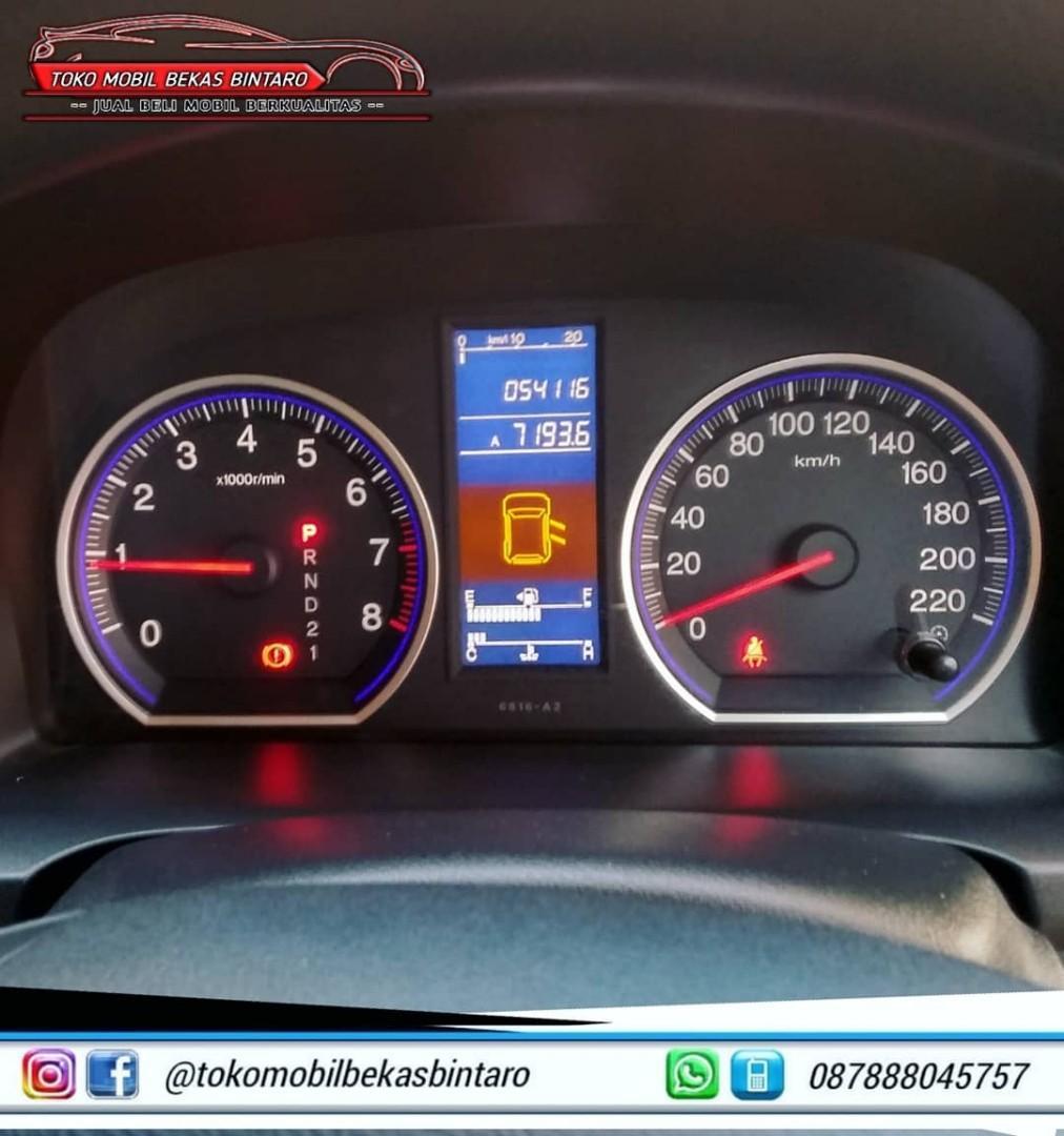 Honda CRV 2.0 AT 2010 ,Km 59rb Pajak 2020 .Kondisi Istimewa