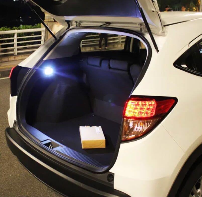 Honda Vezel Hrv Led Boot Light White With Free Installation Car