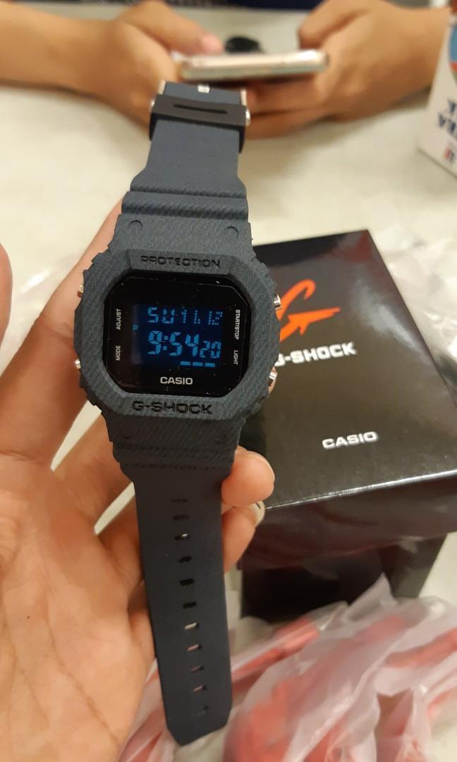 jam G-shock dw 5750 full black
