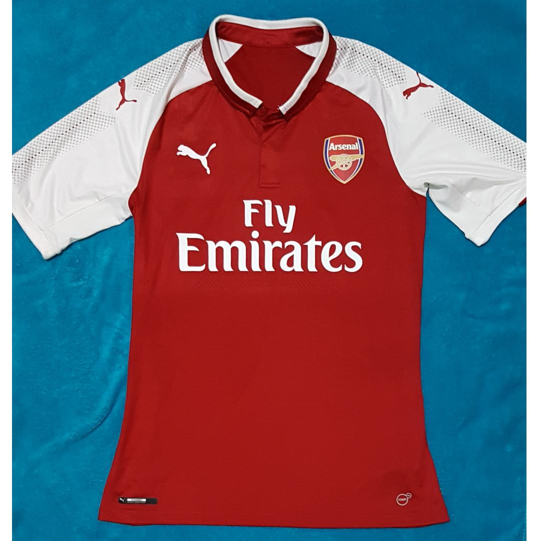 uk availability 88a66 05ce3 Jersey Arsenal Home 2018, Mkhitaryan, Authentic Player Issue ...