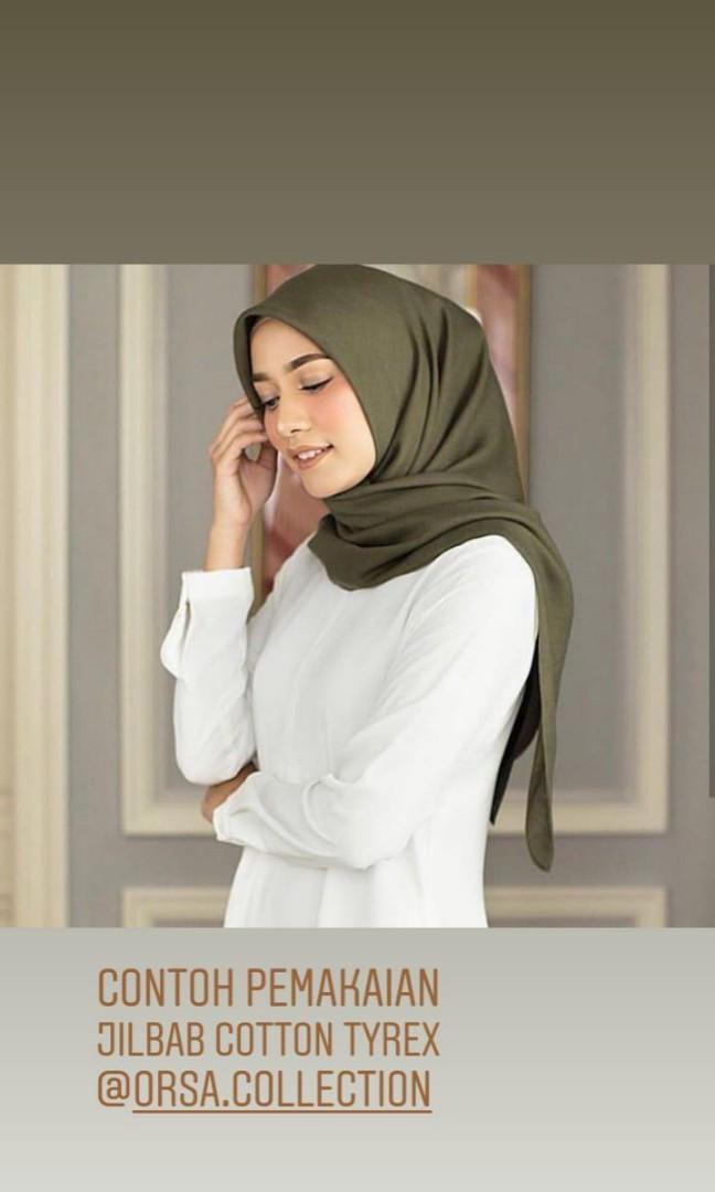 Jilbab cotton tyrex