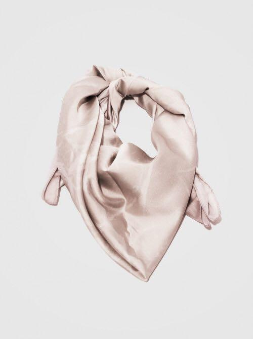 La Perle Marble 01 Scarf Pink