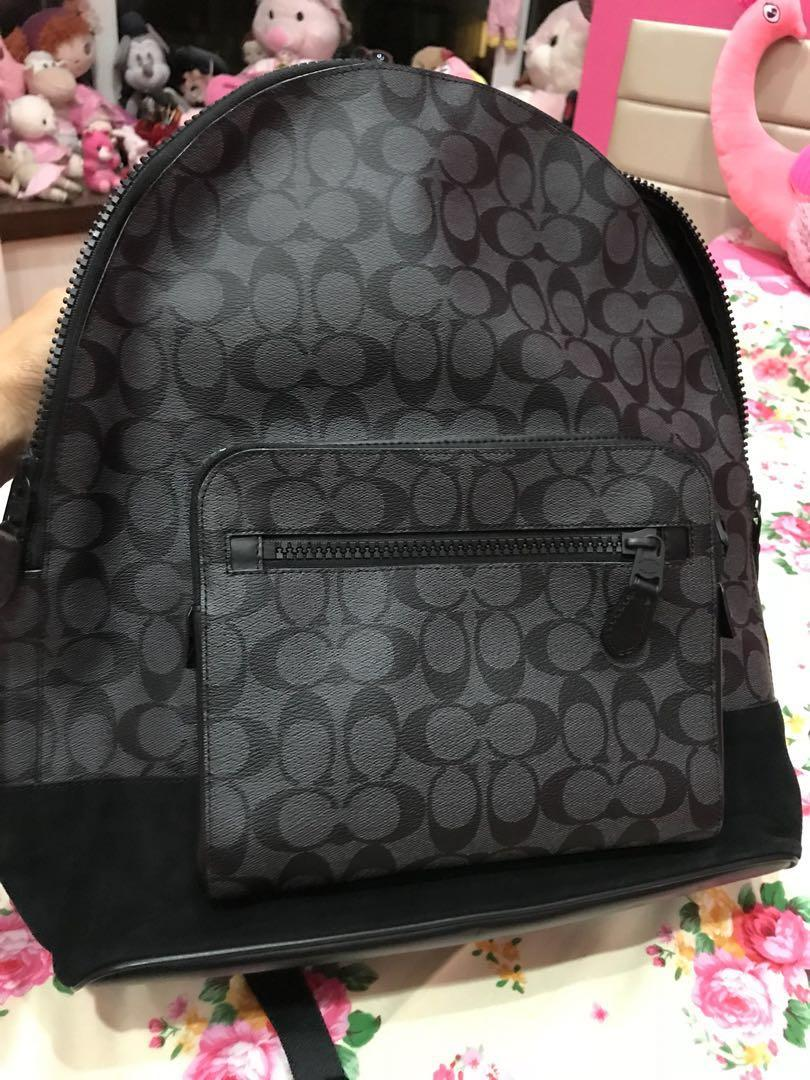 Large size 2 zips authentic coach brand new selling cheap