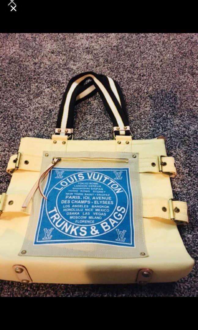 Lv canvas bag