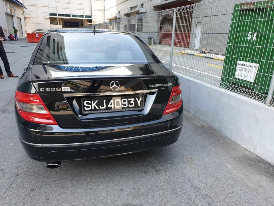 Mercedes C200 for rent