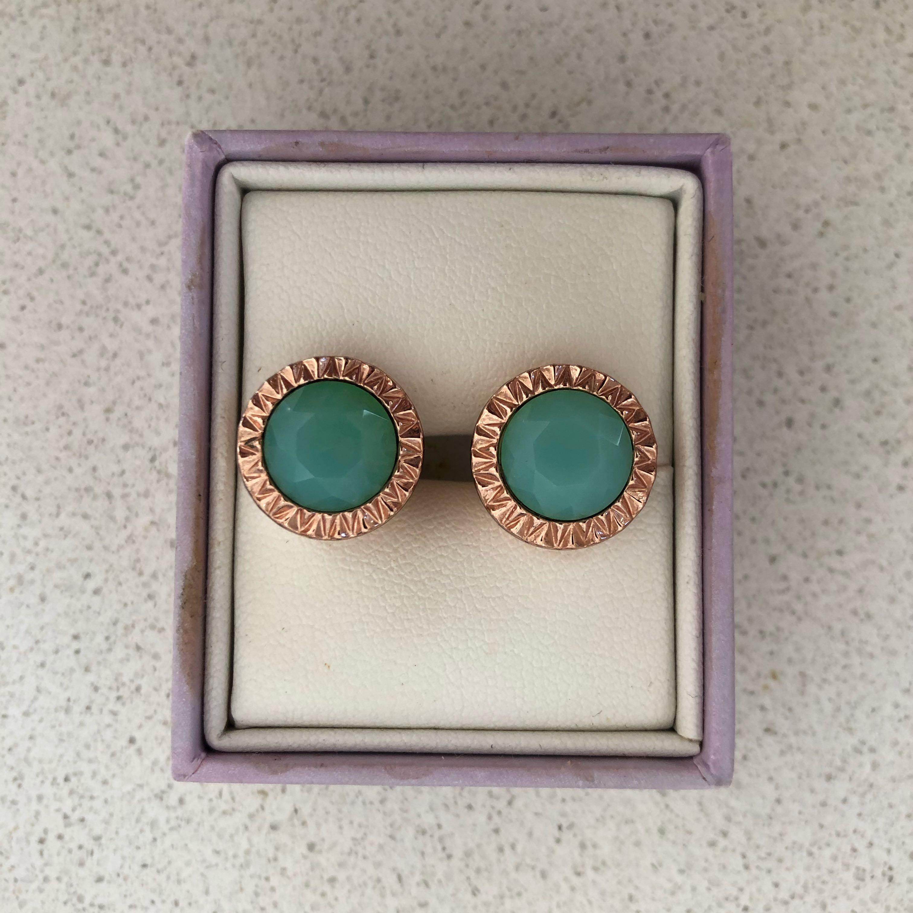 Mimco crystal earrings