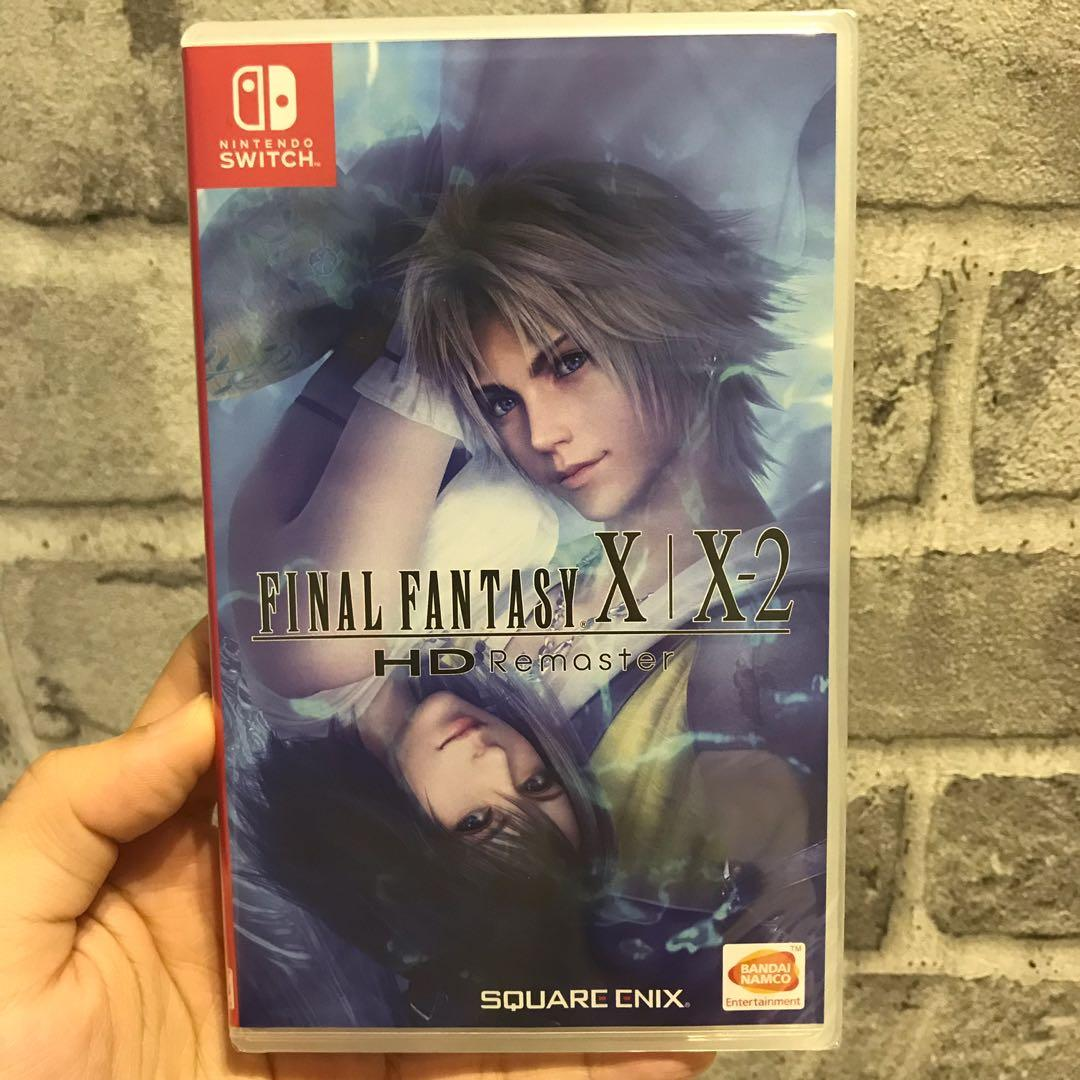 NEW] Nintendo Switch Game - Final Fantasy X | X-2 HD
