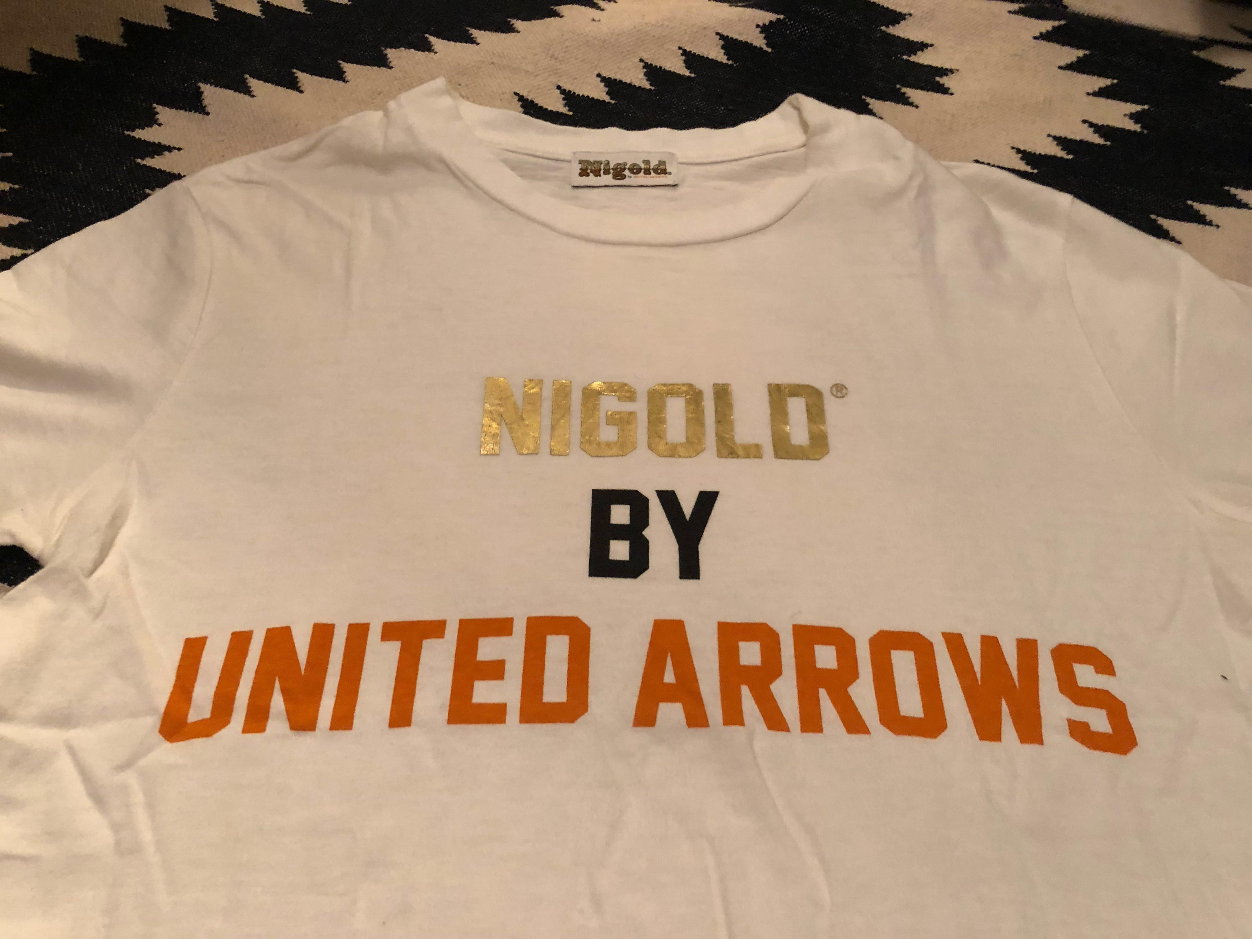 Nigo X United Arrows Tee 9成新