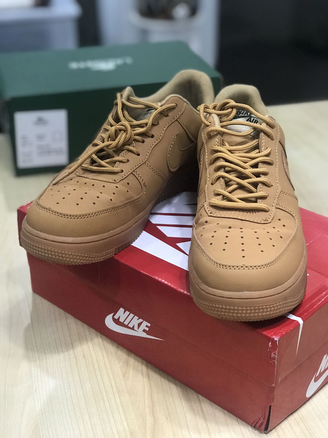 les ventes chaudes befd0 89769 Nike Air Force 1 - Camel