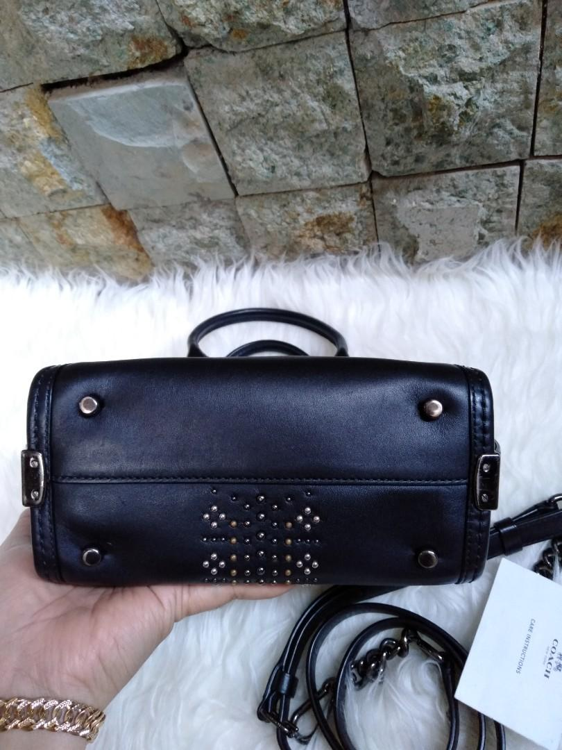 Preloved coach swagger rivets