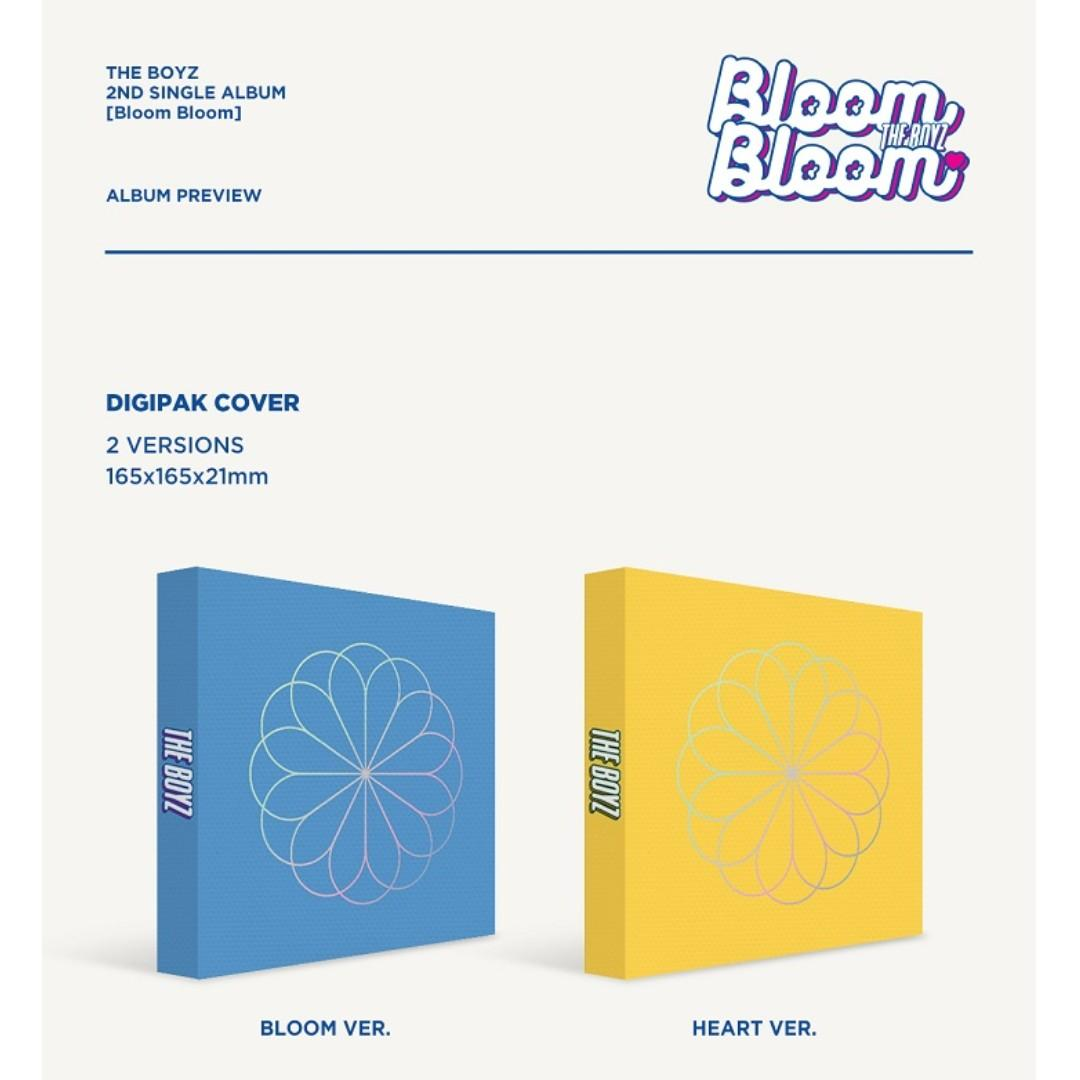 [PREORDER] 더보이즈 (THE BOYZ) - 'Bloom Bloom' (2ND 싱글앨범)