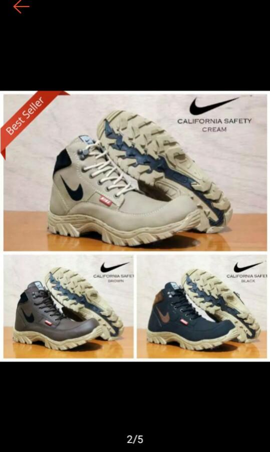 Nike safety boots California .steel toe