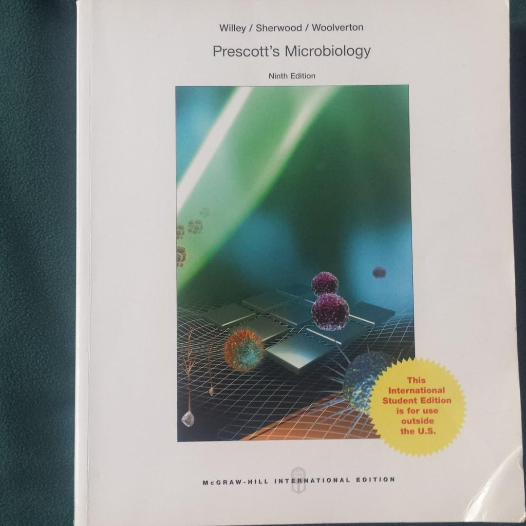 Prescott's Microbiology 9th Edition BRAND NEW (Different COVER but SAME CONTENT)