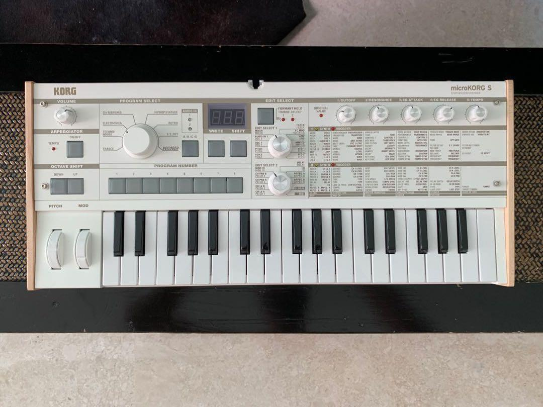 Price Drop!] Korg microKORG S Synthesizer/Vocoder 🎹, Music