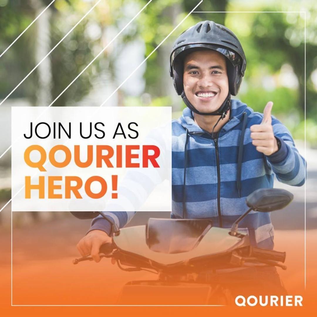 Qourier Hero (Freelance)