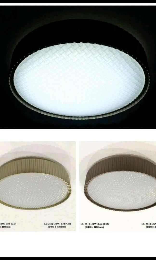 Retro Design LED Ceiling Light