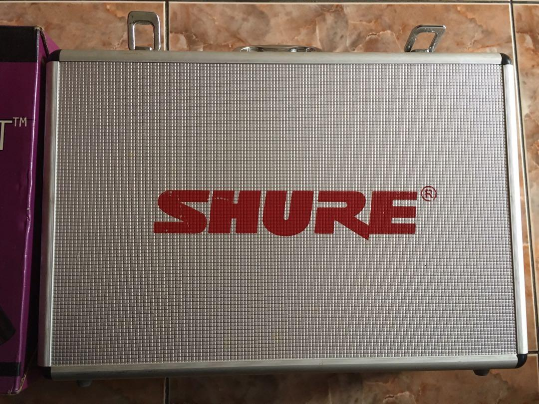 SHURE The Vocal Artist UHF/SM58