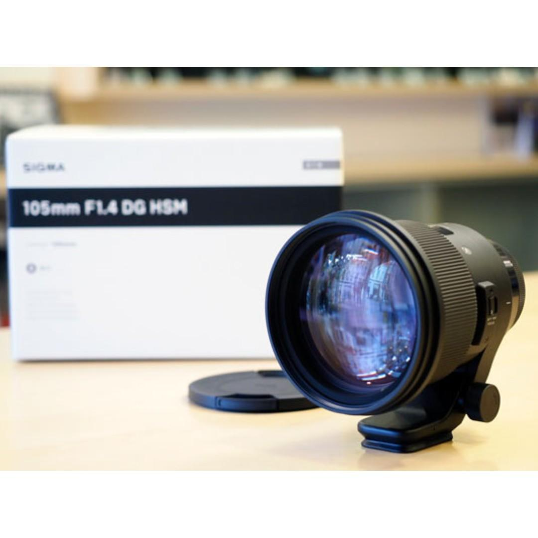 Sigma 105mm F1.4 DG HSM ART (NEW) - Various Mount Available
