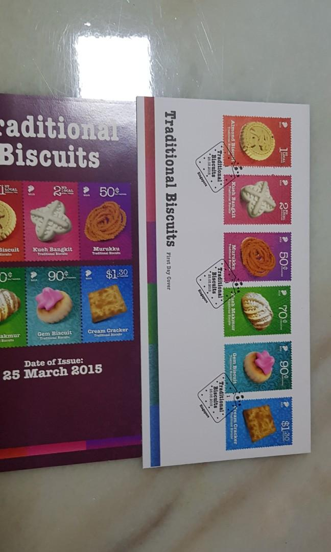 Singapore FDC Traditional biscuits