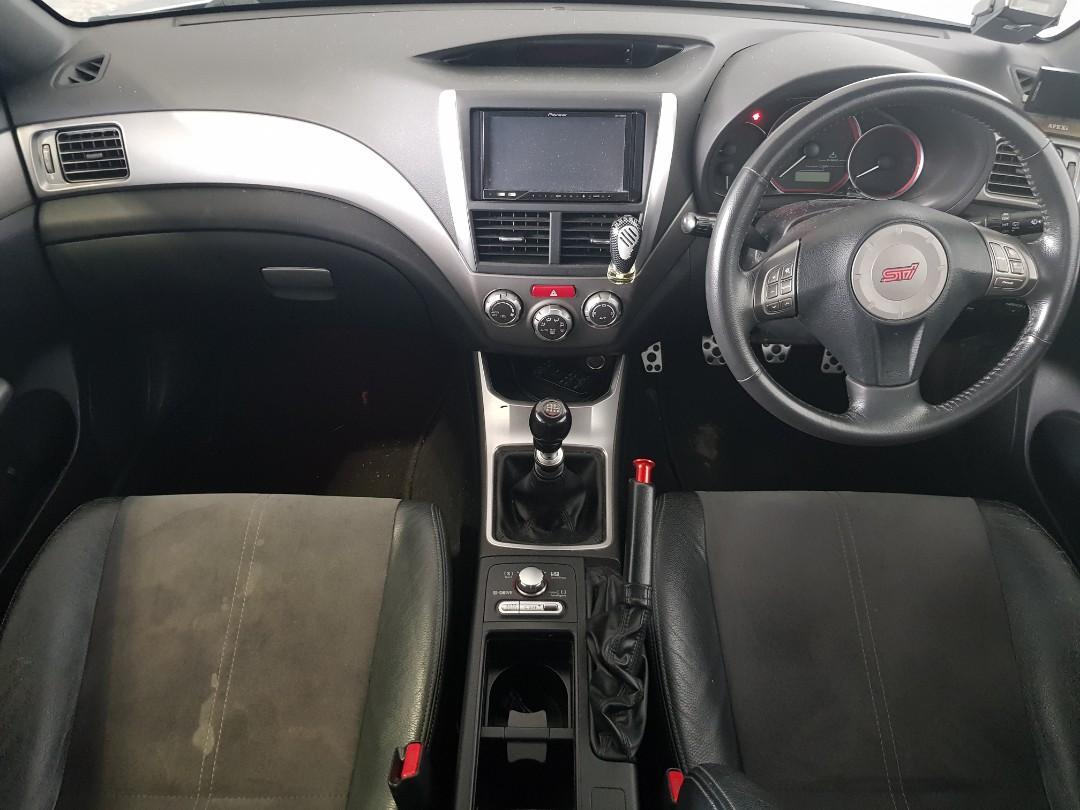 Subaru Impreza WRX STI 2.5 5-Dr Manual
