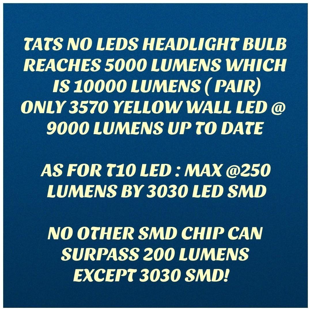 T10 W5W 192 501 Warm White 4 3k Canbus Led - Osram 3030 Led