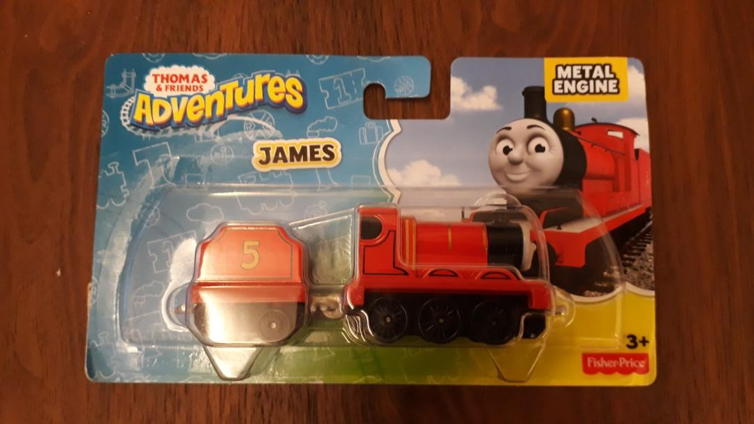Thomas and Friends James Die-cast Metal train, Toys & Games